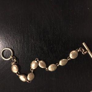 Kenneth Cole Rustic Gold Bracelet